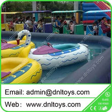 hot sale inflatable bumper float boat for kids