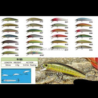 Minnow Sinking Bait Fishing Plastic Hard Lures