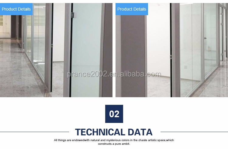 waterproof attractive frameless glass partitions