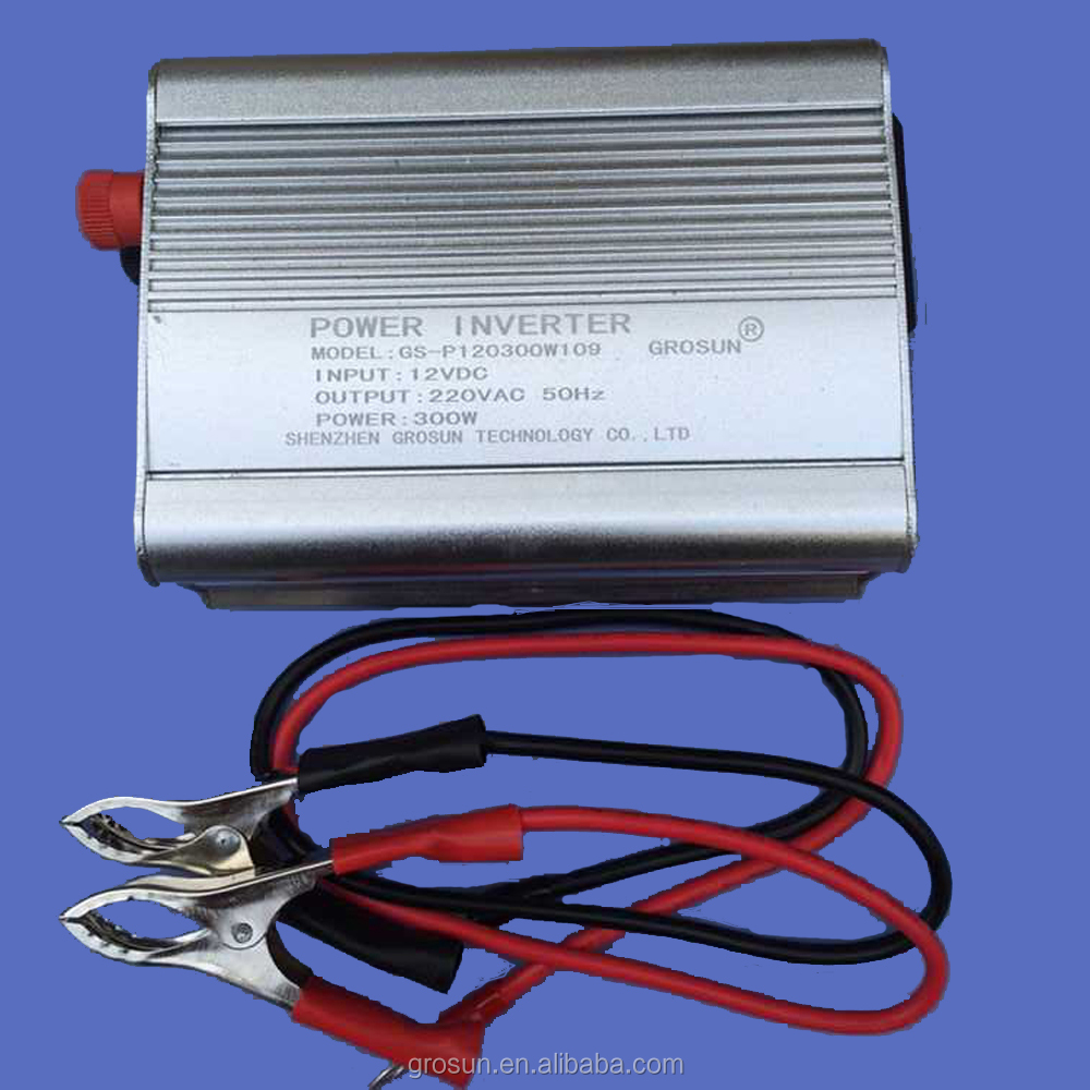 Shenzhen Manufacturer 300W Pure Sine Wave Power Inverter DC to AC Converter/Transformer with CE Rohs