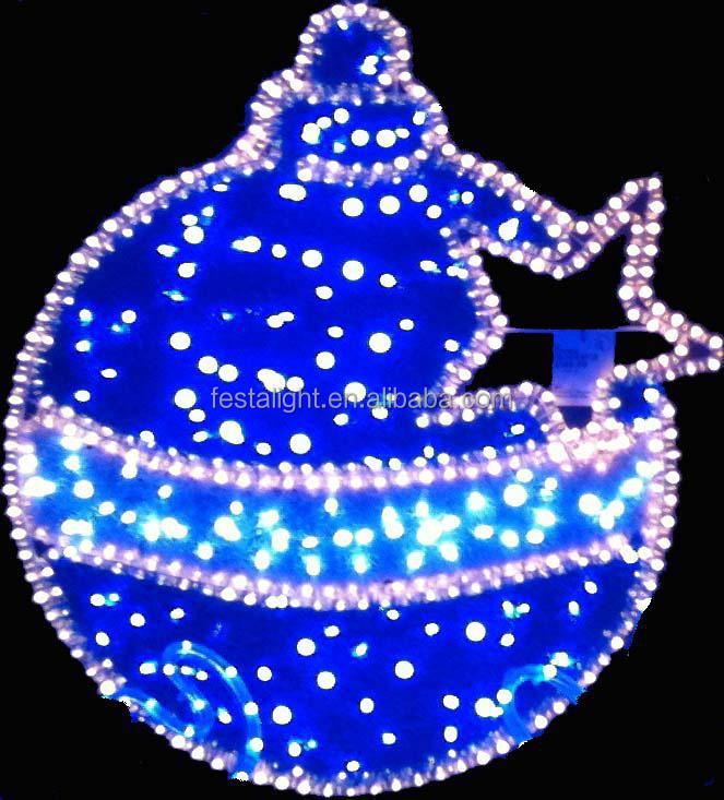 Holiday time Christmas LED, LED lighting ball/christmas ornament ball (Blue/Red/Green)