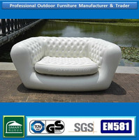 Popular white sectional inflatable chesterfield sofa