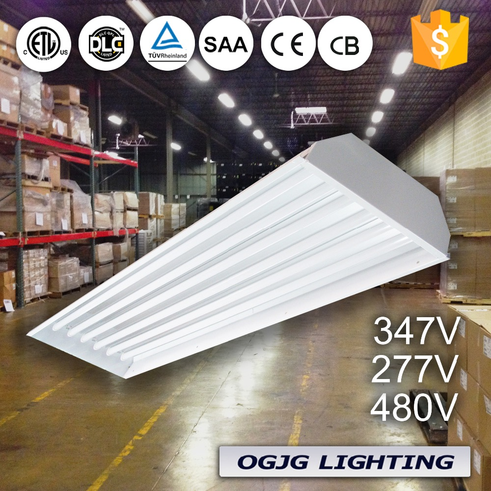 UL SAA high quality damp proof suspended warehouse led low bay light fixture