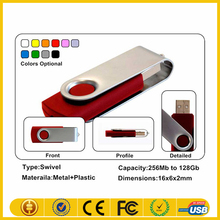 Bulk 1gb usb flash drives,corporate gift usb memory stick ,promotional swivel usb printed logo
