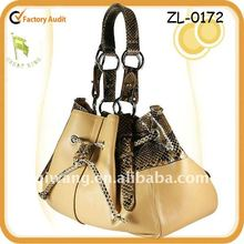 2012 Ladies Fashion Snake Python Handbags