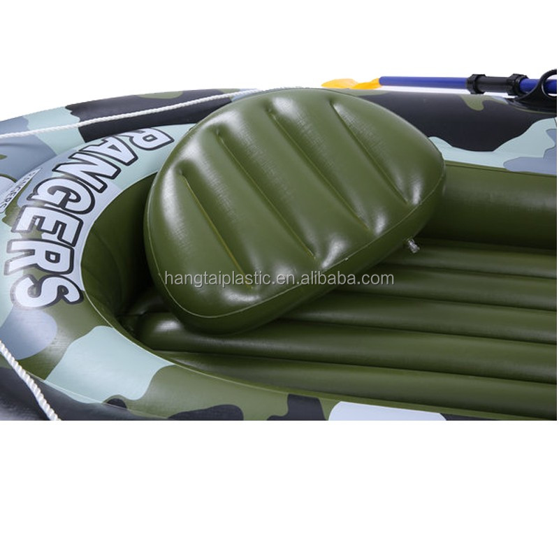 Phthalate-free PVC 4 person inflatable boat
