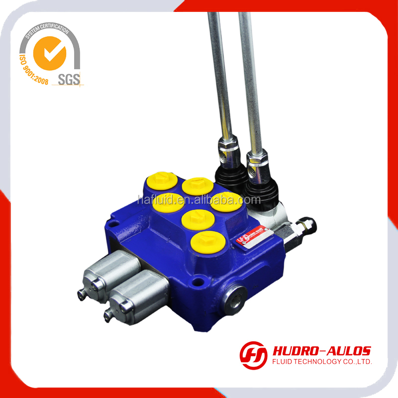 6 spools/levers hydraulic oil valves in China factory /spool control valve