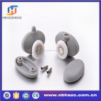 Ball Bearing Plastic Roller Assembly for Framed and Frameless Sliding Shower Doors