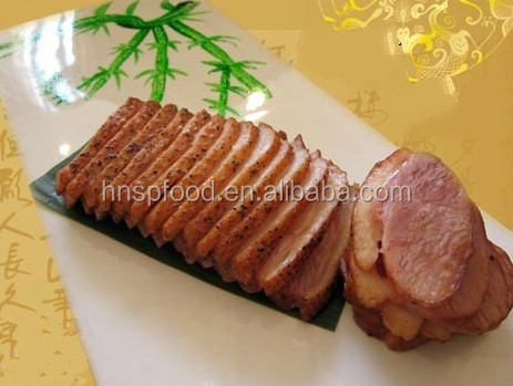smoking duck breast