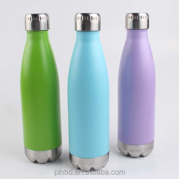 new metal 304 stainless steel promotional water bottle
