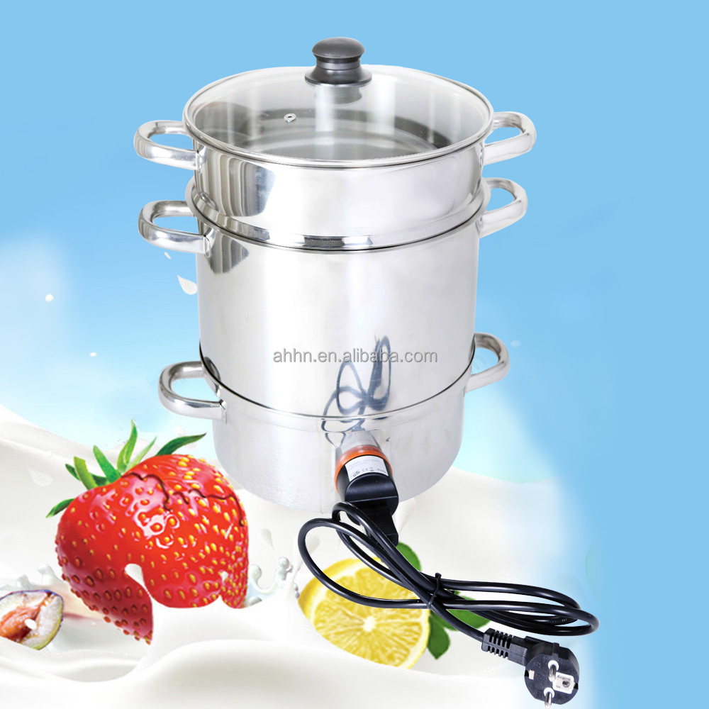 Electric citurs juicer extractor steaming juicer