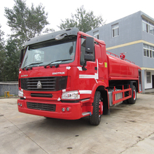 Guaranteed 100% SINOTRUCK Fire Truck Tankers Sale