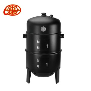 2018 New outdoor bbq grill smoker charcoal barbecue