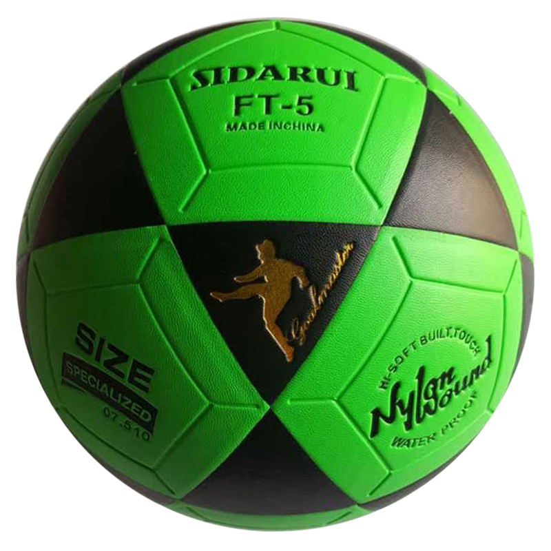 Top Selling China factory Customized logo Match training Thermal bonded PU / PVC soccer football