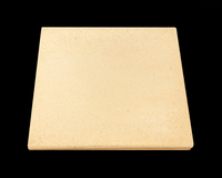 Yellow Square Cordierite Pizza Cooking Stone