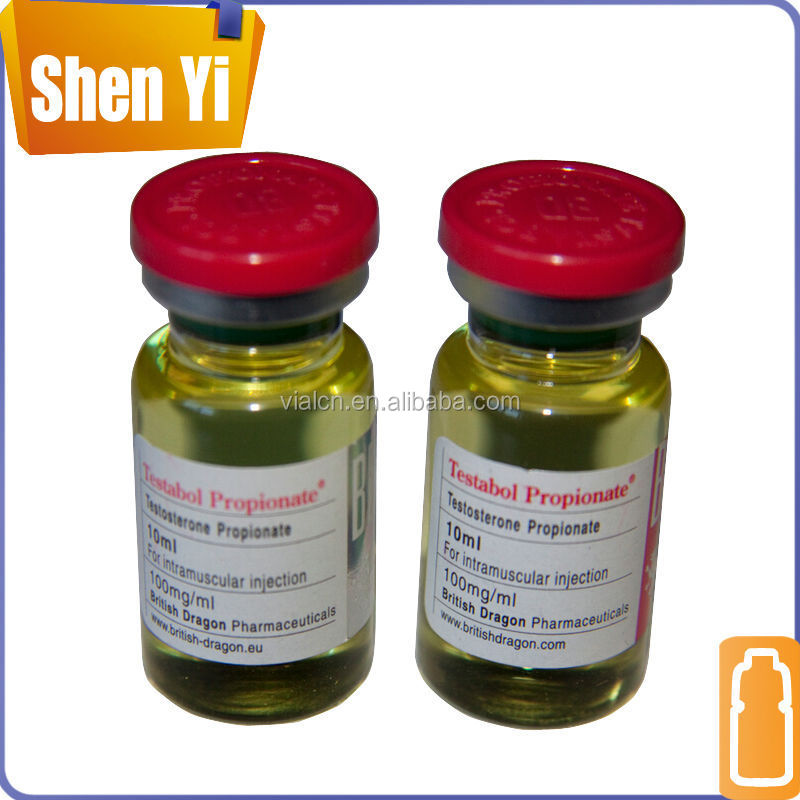 Hot-selling clear glass vial siliconized vial for injection
