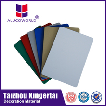 Alucoworld excellent surface flatness and smoothness cheap wooden cladding
