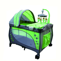 Wholesale high quality mesh fabric for playpen,foldable portable baby rocking bed