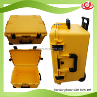 IP67 hard plastic travel pull rod luggage safety case for china manufacture