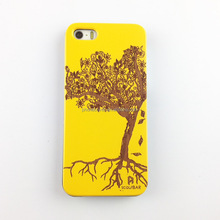 Wood Natural Phone Case for iPhone 5 High Quality Colorful Print Case Phone Cover for Apple IPhone