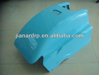 High quality glossy gel coat finish fiberglass cover