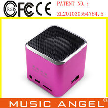 high quality sound speaker portable battery speaker vibration speaker subwoofer
