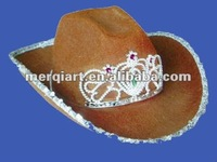 Fashion Western brown Cowgirl Hat cowgirl hat cowboy hat