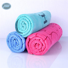 Wholesale coral fleece microfiber towel fabric roll for car washing