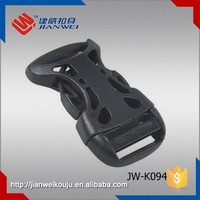 Custom made high quality side release plastic buckles for belts JW-K094