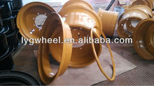 Construction Machinery wheel rim 17.00-25, Industrial Wheels with OTR tyre 20.5-25, wheel for wheel Loaders,Earth moving