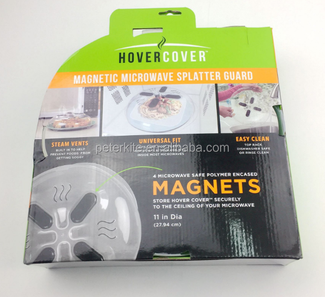 Hover Cover Magnetic Microwave Splatter Guard