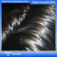 Balck Annealed Wire/Wire Tie Decorative Electrical Cable Black Mild Steel Wire