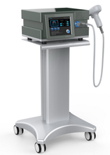 Physical therapy shock wave equipment with video