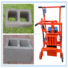 manual mobile cement block making machine on sale