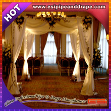 Hot sale wedding ceiling drape,backdrop wedding decoration,used pipe and drape for sale