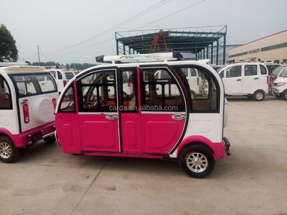 Passenger electric auto tuk tuk rickshaw For sale