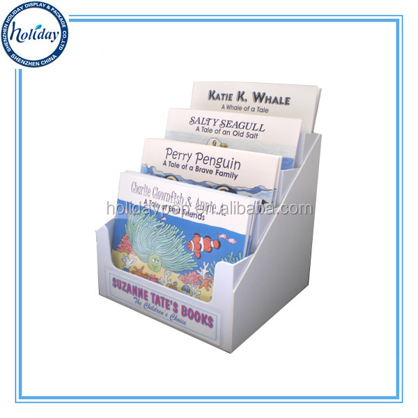 Custom Design Durable Gift Card Display Holder,Cardboard Table Stand Business Card Display Holder