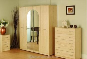 Diy Custom Made Wardrobe/mirror Door Wardrobe Closet Pure Color