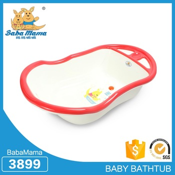 Best quality portable freestanding custom size plastic bathtub for baby