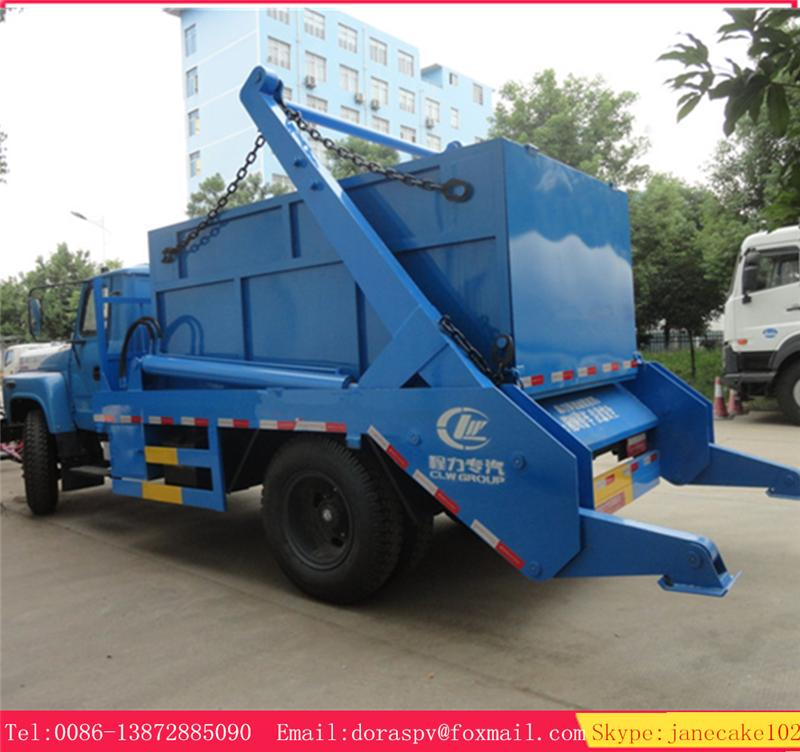 Hot sale dongfeng 15 ton bin lift refuse truck