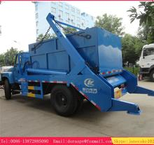 dongfeng 15 ton skip loader container lifting bin lift refuse truck for sale