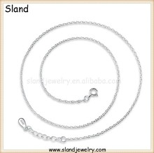925 sterling silver byzantine chain for necklaces of men and women, quality-assured products for import