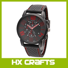 Newly SPORT Car Design 2017 Fashion Sports Quartz Watch Men Military Watches Silicone Sport Wristwatch