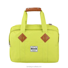 New Design Apple Green Women's Portable Laptop Computer Bag