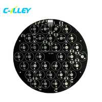 Round PCB Circuit Board, Led PCBA Assembly PCBA Manufacturer
