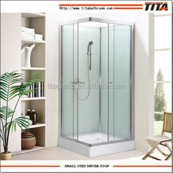 Simple steam shower cabin