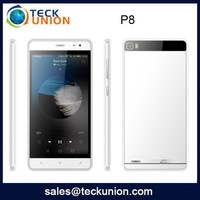 P8 5.0 inch Android 4.4.2 cell phone dual cameras MTK6572 dual sim card mobile handset