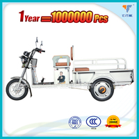 Strong loading cargo delivery electric tricycle with cabin