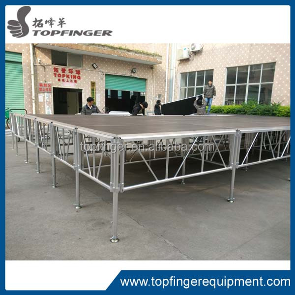 High quality mobile stages,portable stage platform/aluminium /iron stages frame,large entertainment stages