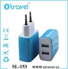 high quality Mobile Phone USB wall charger for Samsung Galaxy S5 S4 S3 Note 3 Note 2